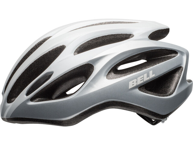 Bell Draft Kask rowerowy, white/silver